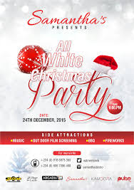 your invitation to samantha u0027s all white christmas party 24th