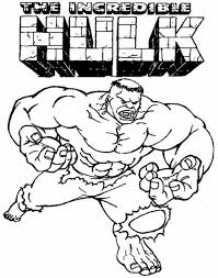 hulk coloring pages coloring