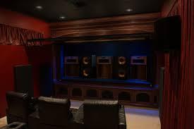 Home Cinema Interior Design Klipsch La Scala Trio Home Theater Room Build Klipsch