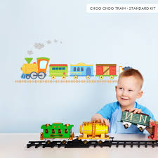 train party ideas wallums com wall decor 23jl choochootrain wall decal standard
