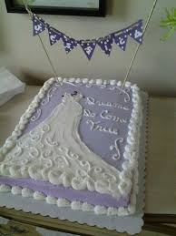 Sheet Cake Decoration Bridal Shower Cake Ideas