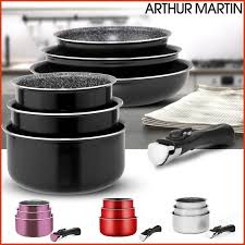 arthur martin cuisine batterie cuisine arthur martin unique batterie cuisine 4 8 pi ces
