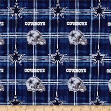 Dallas Cowboys Home Decor Nfl Flannel Dallas Cowboys Navy Grey Discount Designer Fabric