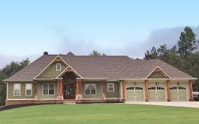 Craftsman Home Plan Top Of The Line Craftsman House Plan 24364tw Architectural