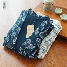 robe de chambre japonaise homme pyjamas peignoirs taille m pour homme ebay