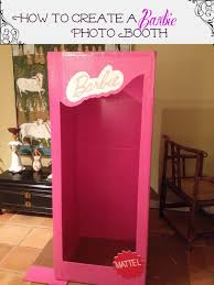 Barbie Themed Baby Shower by How To Make A Photo Booth For A Barbie Party Barbie Life Barbie