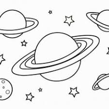 planets coloring pages kids printable