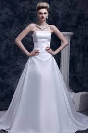 robe de mariage simple simple robe de mariée naturelle classique persun fr