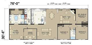 4 bedroom modular home floor plans chion 381l manufactured and modular homes making