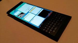 blackberry keyboard for android blackberry priv running android revealed with slider