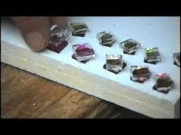 How To Make Fused Glass Jewelry - bead kiln demo 2 fusing dichroic glass earrings youtube