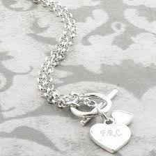 Engravable Heart Necklace Sterling Silver Engraved Heart Necklace Find Me A Gift