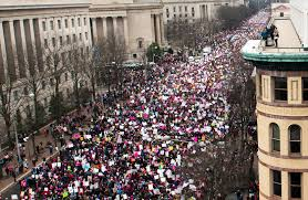 picture of inauguration crowd women u0027s march had three times trump u0027s inauguration numbers experts