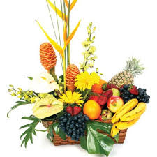 fruit flower arrangements fruit flower arrangements ferns flowers world