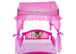 princess canopy toddler bed delta children toddler canopy bed