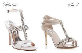 wedding shoes designer vs high weddingsonline