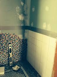 diy bathroom flooring ideas bottle cap wall floor hometalk