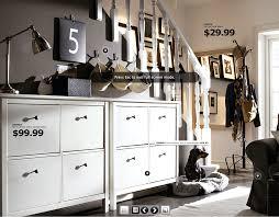 ikea hall image 3 nice shoe storage like the soft baskets hanging