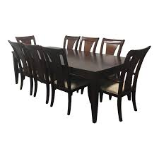 dining table 2 leaves eight chairs from macy u0027s design plus