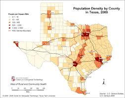 Population Density Map Texas Population Density Map My Blog