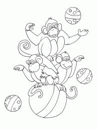 Clown Circus Coloring Pages Coloring Book Circus Coloring Page