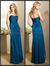 belsoie bridesmaid dress dark teal chiffon size 4 6 model