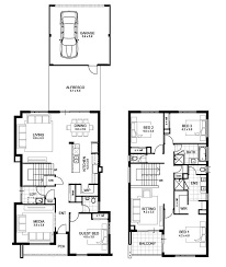 double storey floor plans 2 storey home designs perth home designs ideas online