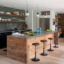 table cuisine originale cuisine originale en bois recyclé cuisine kitchens