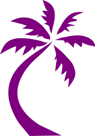 palm tree design purple free vector graphic on pixabay