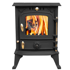 harmston 5 5kw multifuel cast iron log burner wood burning stove
