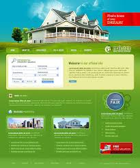 real estate company template