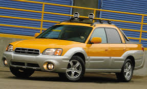 subaru mini pickup subaru baja first drive review reviews car and driver
