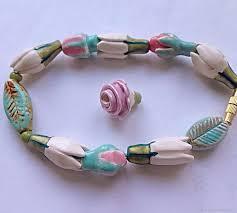 ceramic bracelet images Ceramic bracelet quot tender buds quot shop online on livemaster with jpg