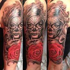 10 utherworldly day of the dead tattoos com tattoos