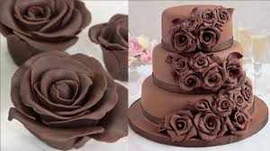 flowers and chocolate amazing chocolate cake decorating tutorial how to make