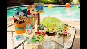 beach party decorations at home ideas youtube