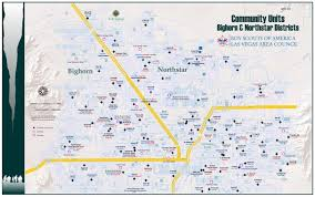 Las Vegas Map 2015 by Northstar District Northstar District