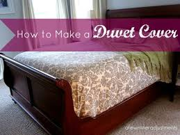 Making A Duvet Cover How To Make A Duvet Cover With Fabric And A Flat Sheet Hometalk