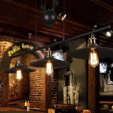Edison Bulb Island Light Industrial Vintage Retro Linear Chandelier Litfad 35 U0027 U0027 Wide