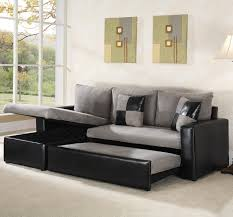 Chaise Queen Sleeper Sectional Sofa Living Room Excellent Sectional With Sleeper For Cozy Your Family
