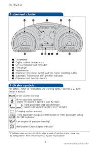 toyota highlander 2010 manual airbag toyota highlander 2010 xu40 2 g reference guide