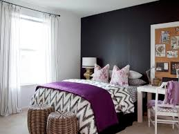black and white striped bedroom curtains dark brown color wooden