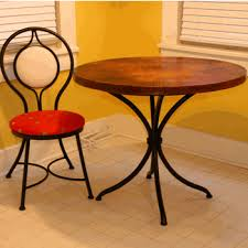 wood and wrought iron table wrought iron and wood tables
