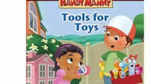 tools toys disney handy manny book