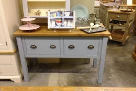 Island Units  Workstations Wolds Furniture Company - Kitchen side tables