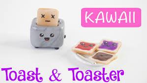 ketchup keychain diy cute miniature toast u0026 toaster charm keychain youtube