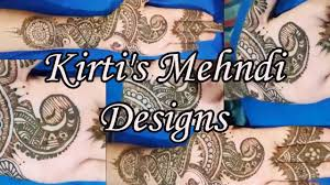traditional mehndi design how to make create traditional peacock
