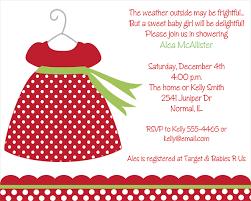 Christmas Baby Shower Invitations - christmas dress baby shower invitations