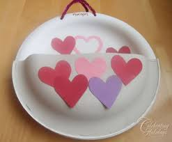 valentine u0027s day heavy duty paper plate card holder celebrating