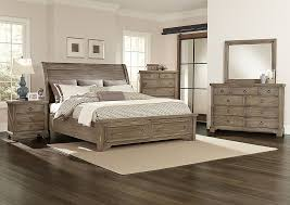 Sleigh Bed With Storage Kemper Sales Whiskey Barrel Rustic Gray Queen Storage Sleigh Bed W